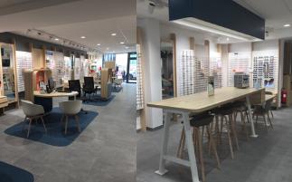 Réouverture du magasin Ecouter Voir Optique Mutualiste Soissons