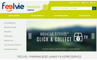 Les sites internet des Pharmacies Mutualistes de Lannoy et Maubeuge sont en ligne !