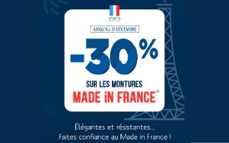 Le Made In France à l'honneur dans nos magasins Ecouter Voir Optique Mutualiste